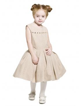 Beige Dress Paula