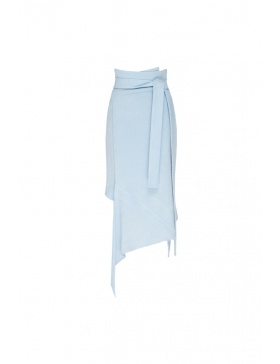 Genna asymmetrical winter skirt