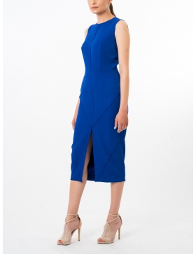 Midi blue moon dress