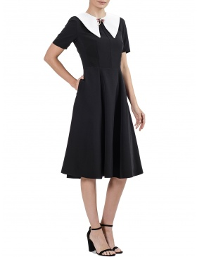 Black midi dress Audrey