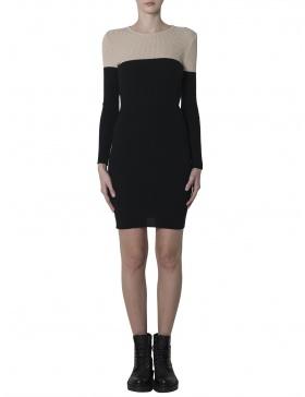Minimalist Bicoloured Dress