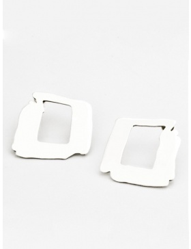 Square Earrings by Skindeep x Moogu