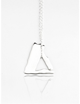Triangle Necklace by Skindeep x Moogu