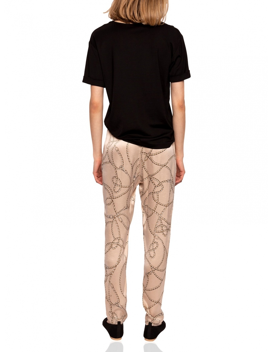 Slim printed pants | Nissa