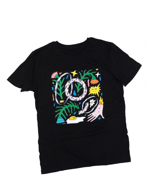 George x Livia Fălcaru T-shirt | Molecule F