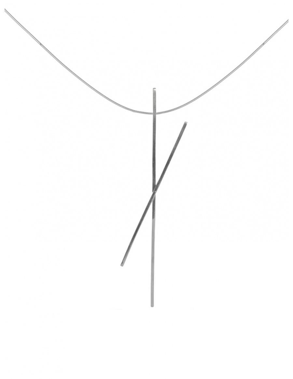 ALPHABET X NECKLACE | MONOM