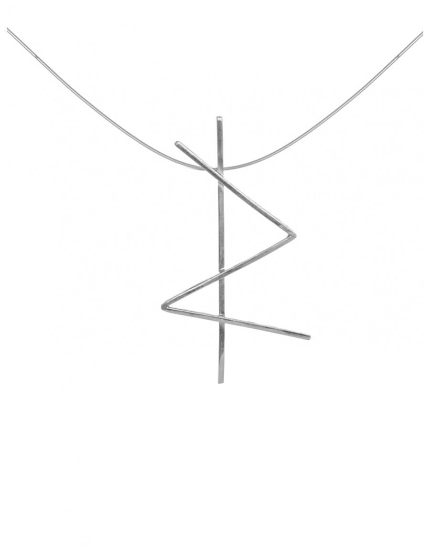 STRENGTH ALPHABET NECKLACE | MONOM
