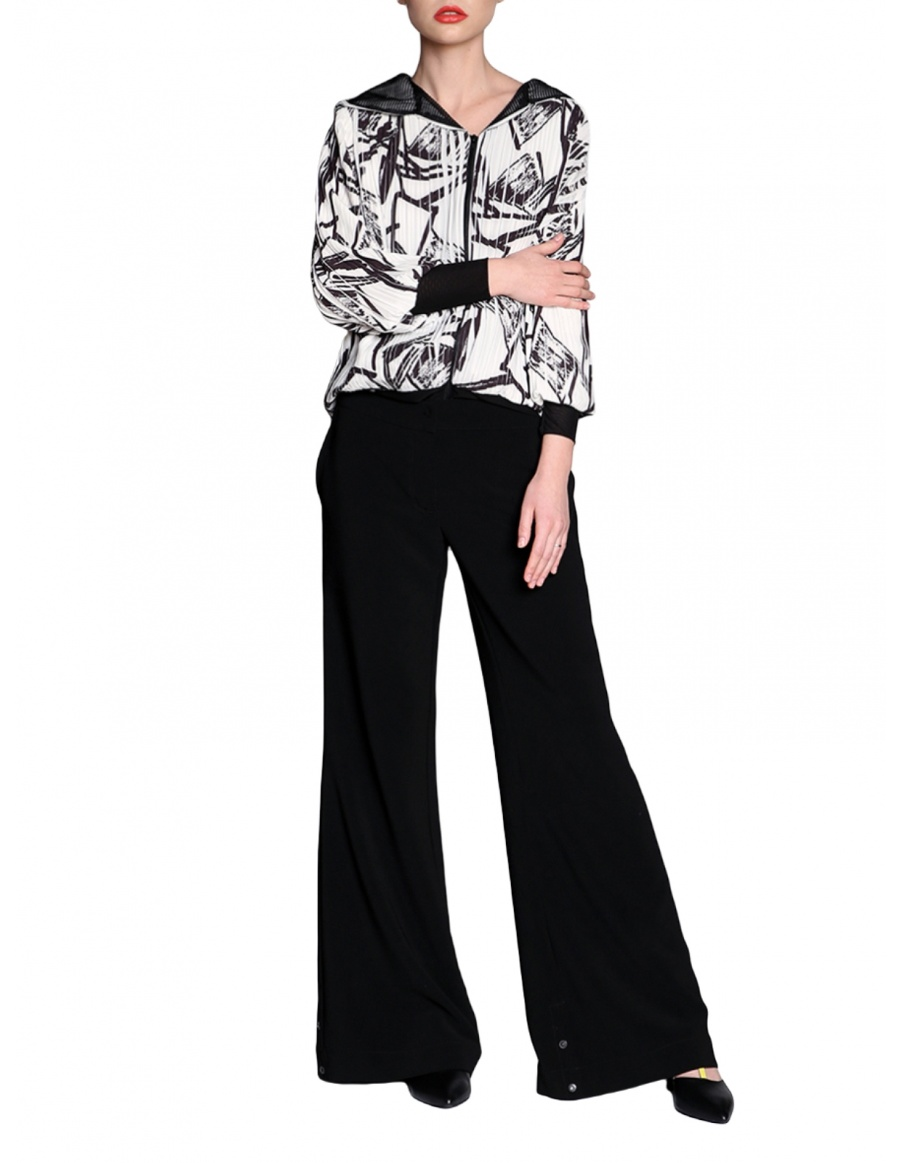 Trousers with adjustable lenght   Silvia Serban