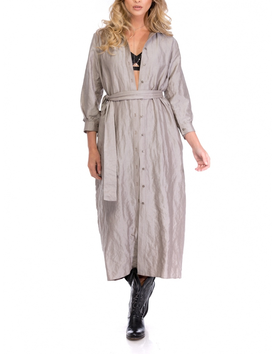 BACK TO BASICS SHIRT-DRESS | Cloche