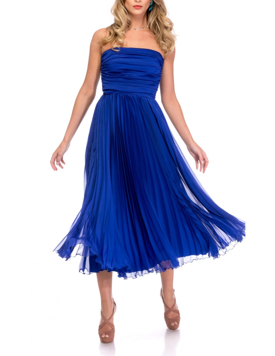 ELECTRIC BLUE DRESS | Cloche