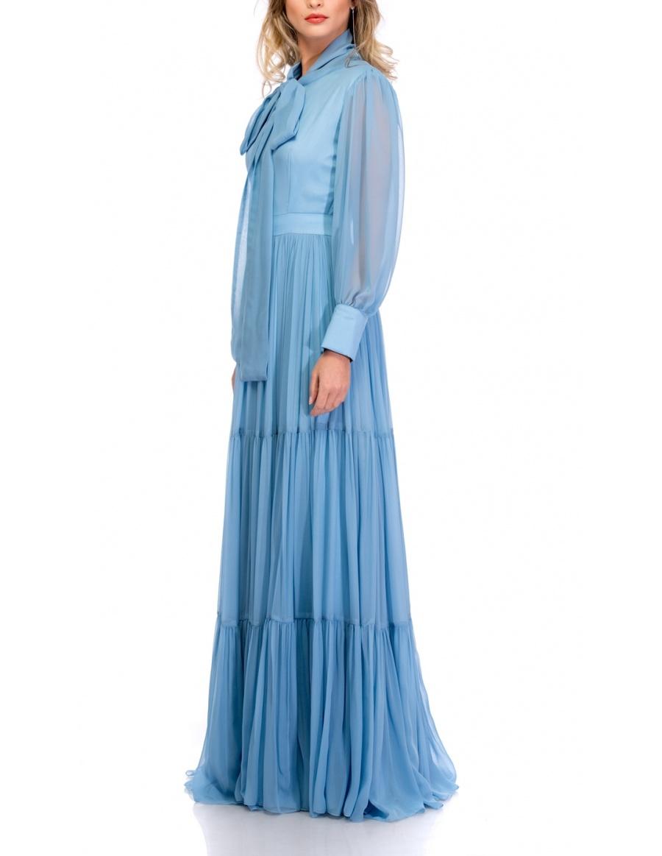 BOW VEIL DRESS | Cloche