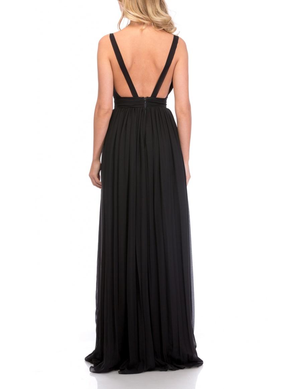 BARE BACK DRESS | Cloche