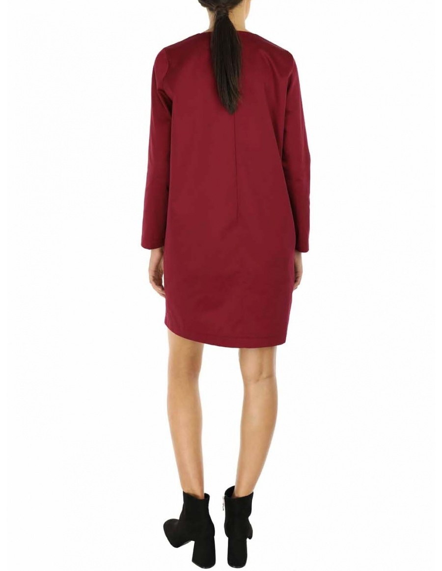 Evelin Dress | Framboise | Molecule F