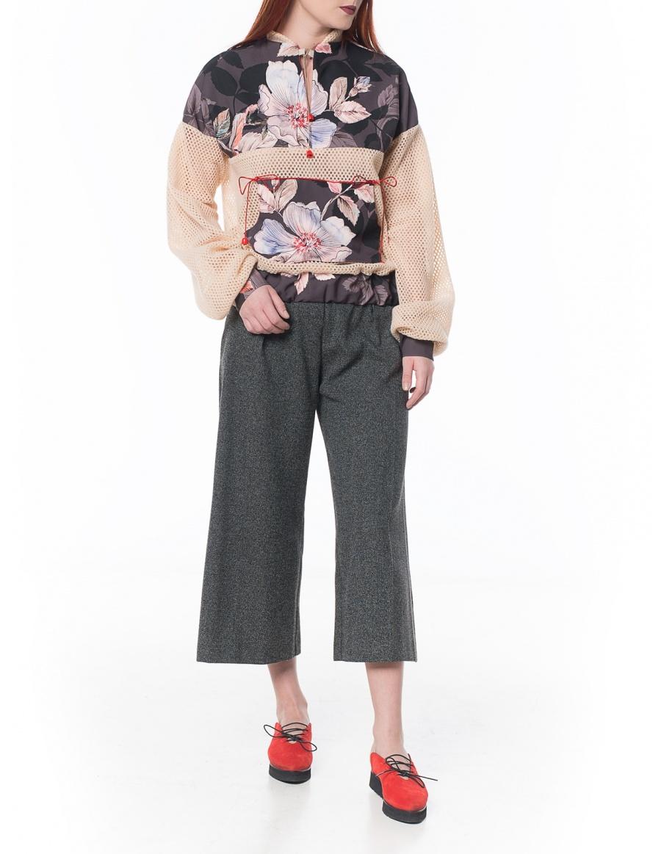 Floral hoodie | Sandra Chira