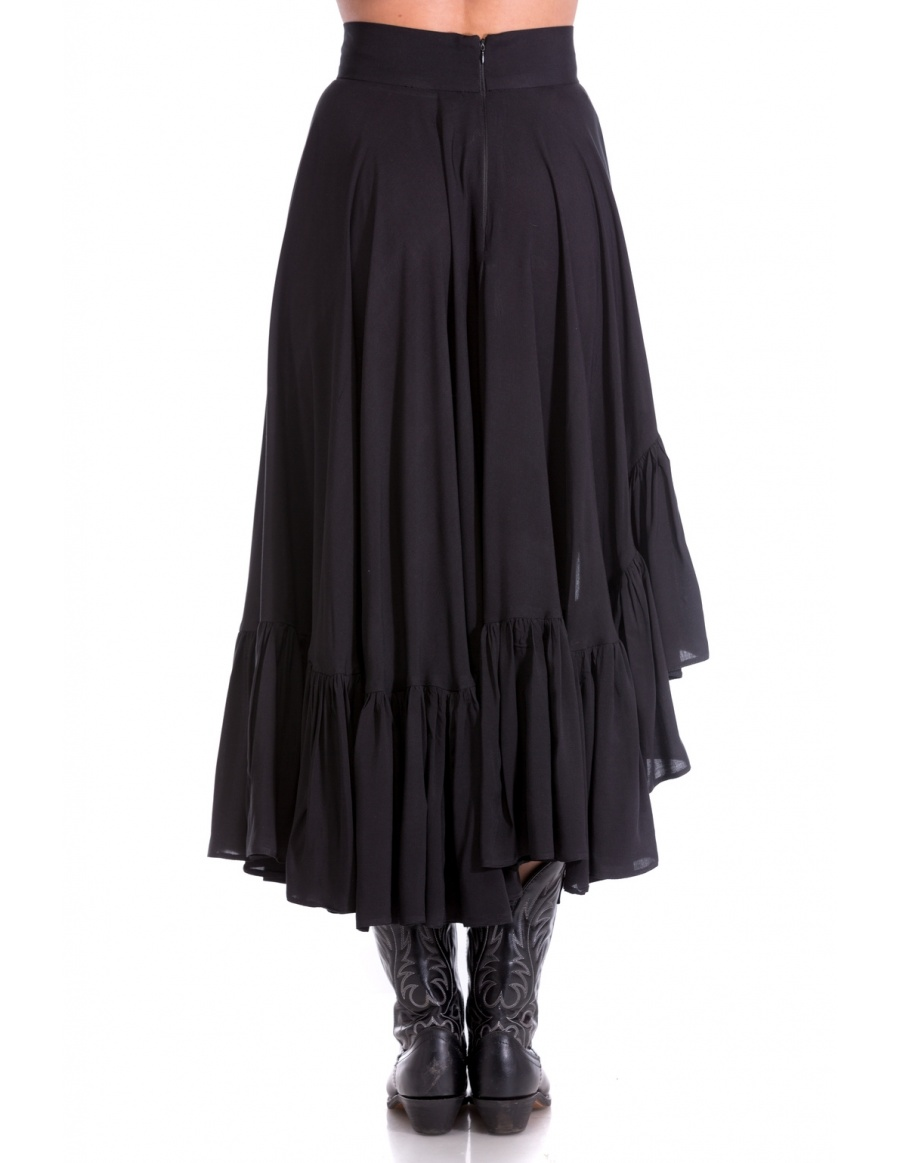 ASYMETRIC SKIRT  | Cloche