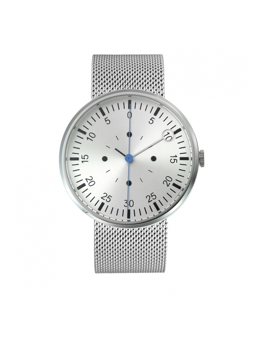 Optimef Farazece Silver watch | Molecule F
