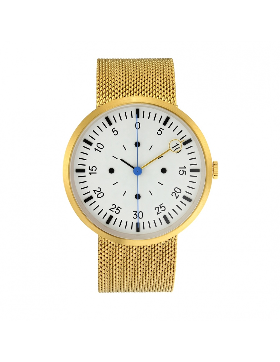 Optimef Farazece Gold watch | Molecule F
