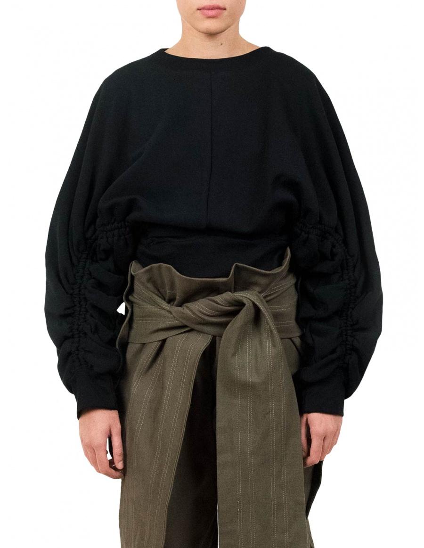 Subs Black Sweatshirt | Ioana Ciolacu | Molecule F