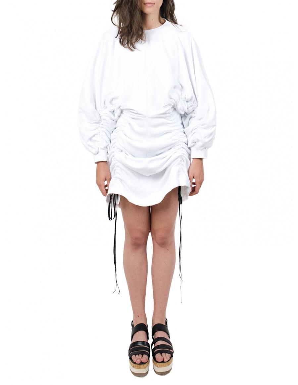 Subs White Dress | Ioana Ciolacu | Molecule F