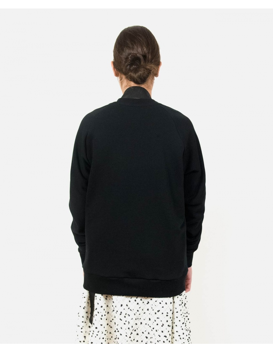 Minor Black Sweatshirt | Ioana Ciolacu | Molecule F