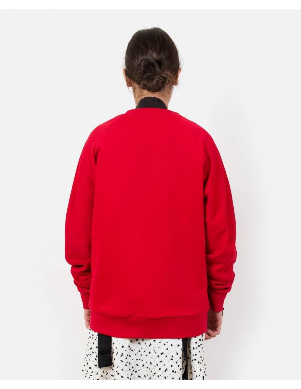 Minor Red Sweatshirt | Ioana Ciolacu | Molecule F