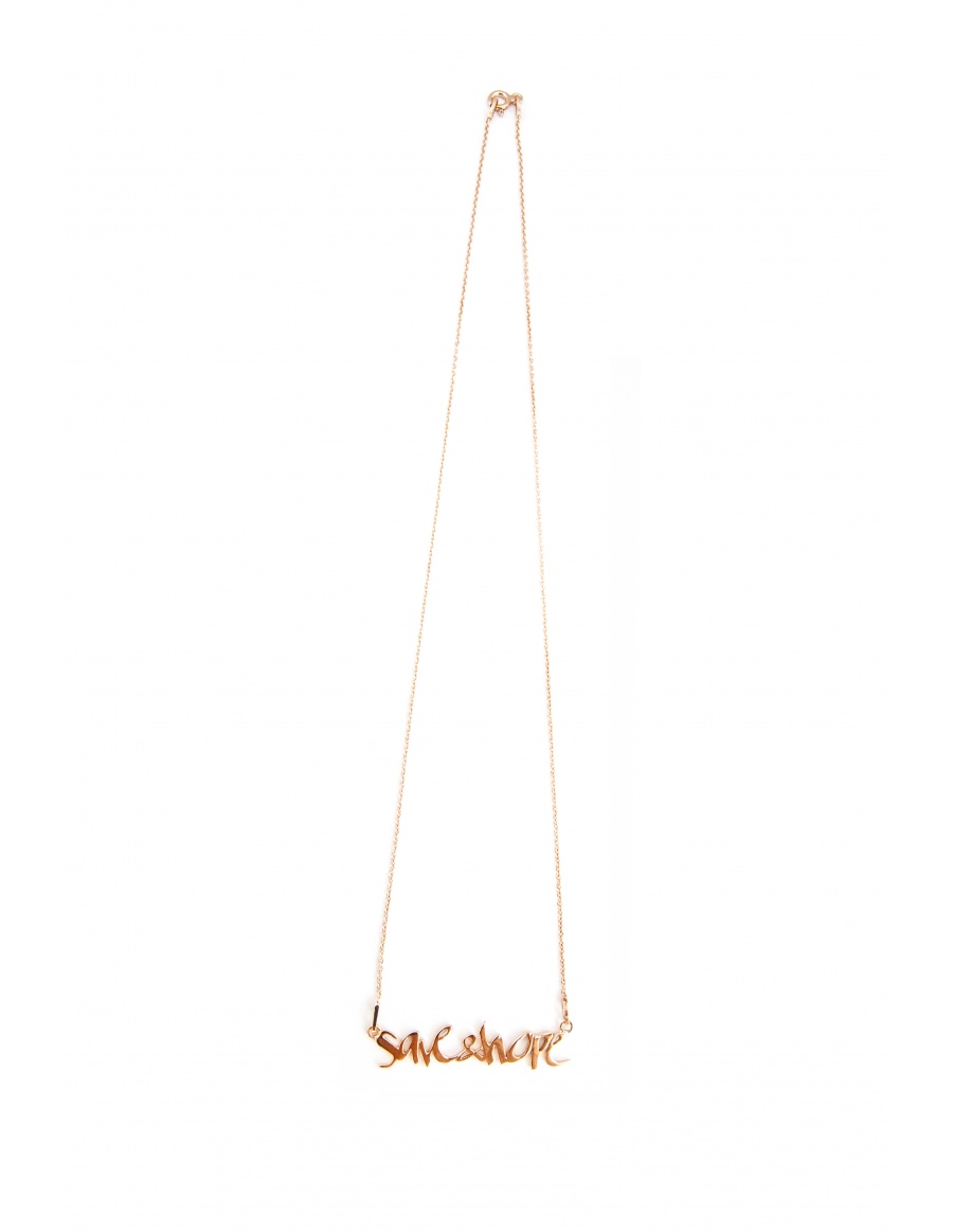 Skin Deep Save&Hope necklace