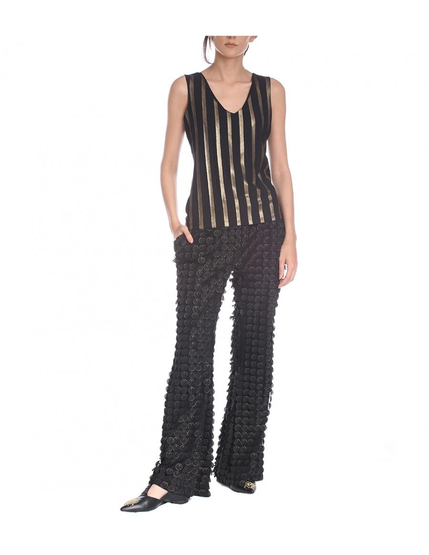 3D laser cut trousers | Silvia Serban | Molecule F