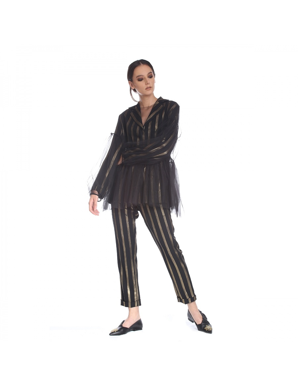 Tulle oversized blouse | Silvia Serban | Molecule F