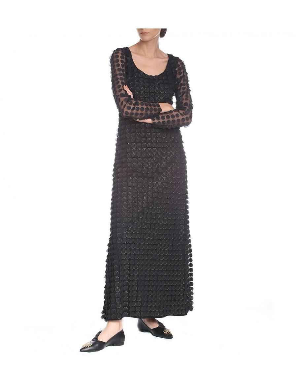 Long flare dress | Silvia Serban | Molecule F