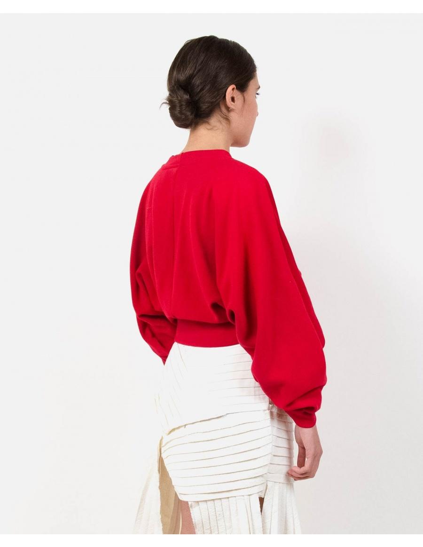Subs Red Sweatshirt | Ioana Ciolacu | Molecule F