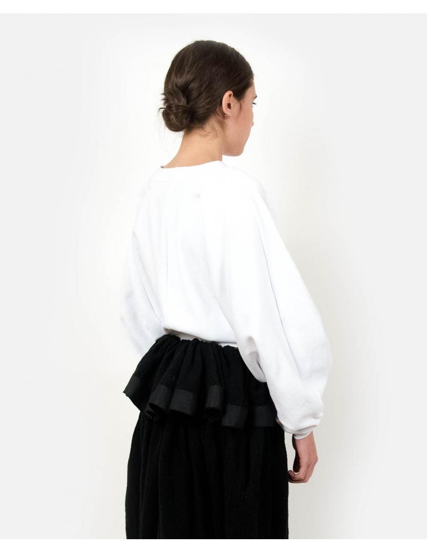 Subs White Sweatshirt | Ioana Ciolacu | Molecule F