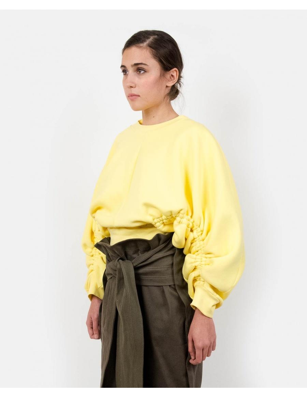 Subs Yellow Sweatshirt | Ioana Cilacu | Molecule F