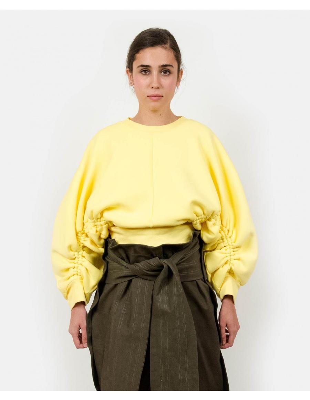 Subs Yellow Sweatshirt | Ioana Ciolacu | Molecule F