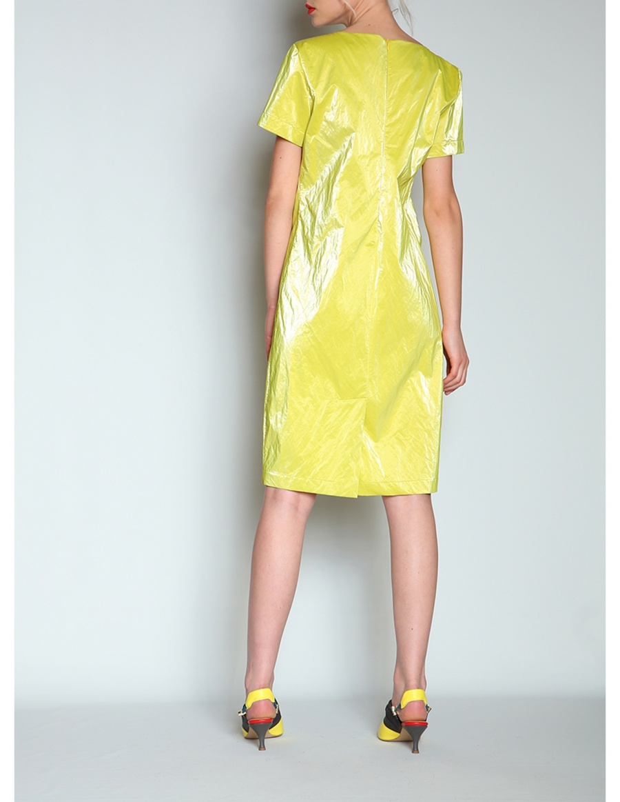Wet look dress | Silvia Serban