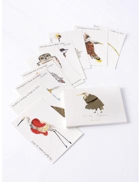Set carti postale Fashion Birds  #9