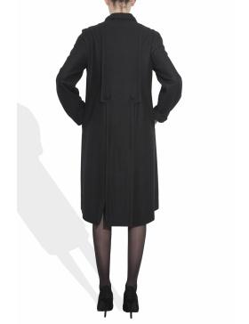 Palton cu inchidere asimetrica