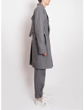 Hibrid trench-kimono