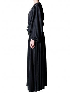 Caftan cupro negru