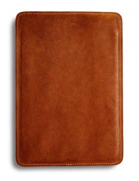 Husă piele pentru iPad Air - maro deschis