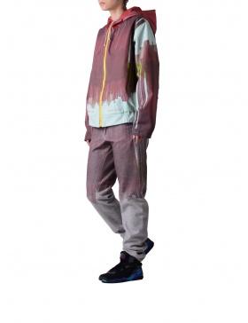 Jacheta printata din denim