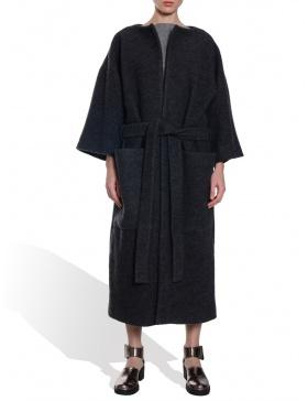 Palton gri inchis