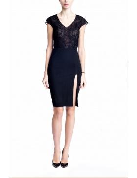 Half Lace Dress