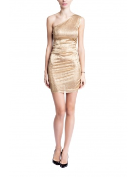 Goldish Woman Dress