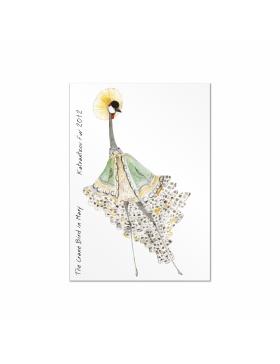 Set carti postale Fashion Birds  #3