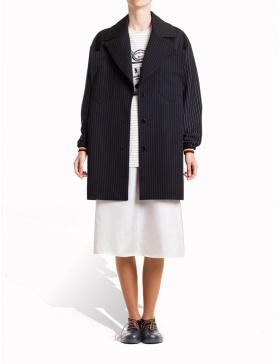 Palton cu dungi