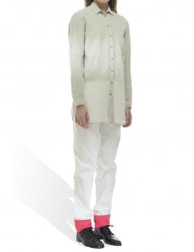 Pantalon alb