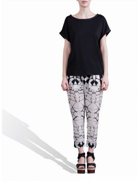 Pantaloni cu print digital