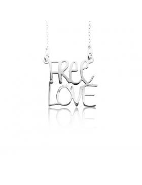 Colier FREE LOVE