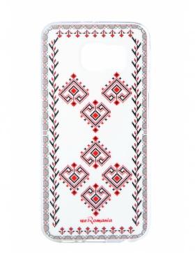 Husa Bucovina din silicon Samsung S6