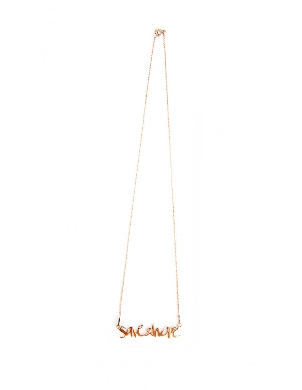 Skin Deep Save&Hope necklace
